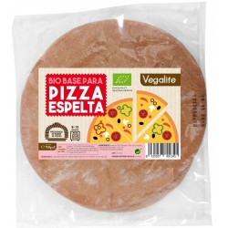 BASE PARA PIZZA DE ESPELTA VEGALIFE